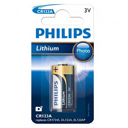 Batteri CR123A 2-pack