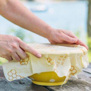 Bee's wrap - hållbar matfolie