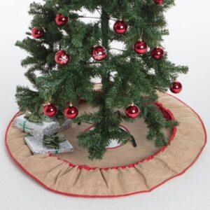 Julgransmatta med gransäck
