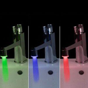 LED-belysning till kranen