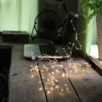 Ljusslinga med USB
