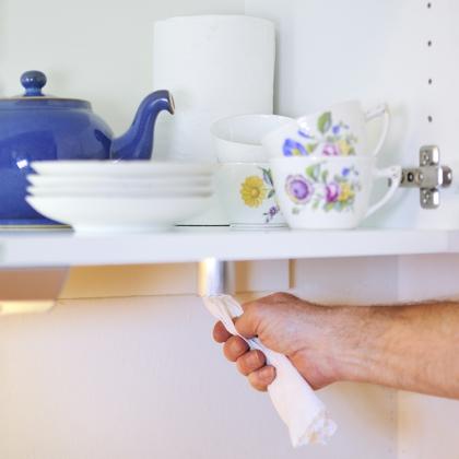 Rivröret, hållare till hushållspapper
