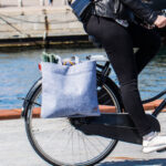 Shoppingkasse för cykeln