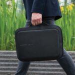 Stöldskyddad ryggsäck och portfölj