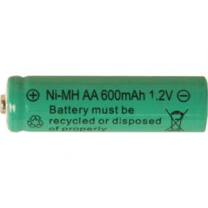 Uppladdningsbart batteri AA