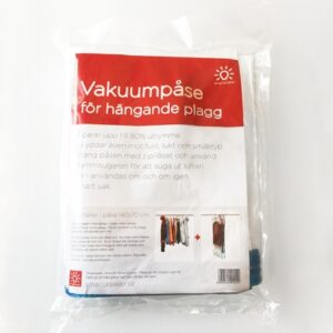 Vakuumpåse för galgade plagg