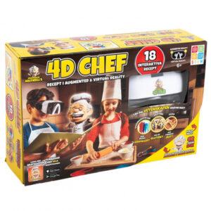 Interaktivt matlagningsspel 4D Chef