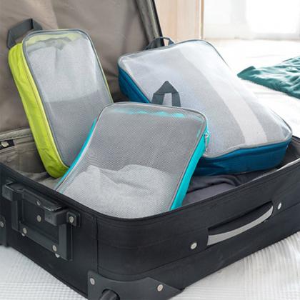 Packpåsar till resväskan, 3-pack