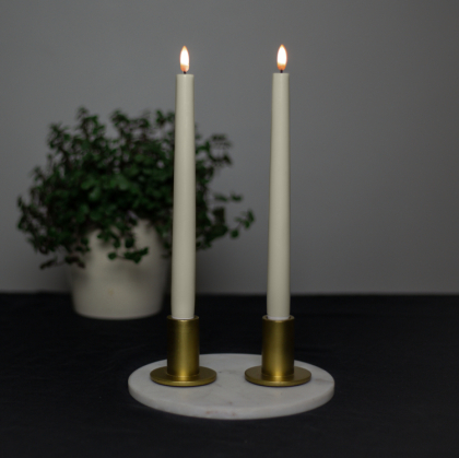 Premium LED antikljus 2-pack