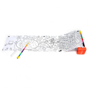 Pysselrulle med färgpenna