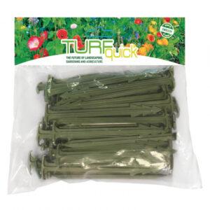 Turfquick nedbrytbara markpinnar, 20-pack