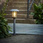 Solcellsladdad gångbelysning, 60 cm