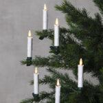 Trådlösa julgransljus