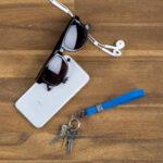 Elastiskt nyckelarmband