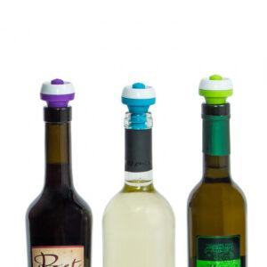 Vakuumkork till vinflaska, 3-pack