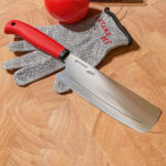 Satake barnkniv med skärsäker handske