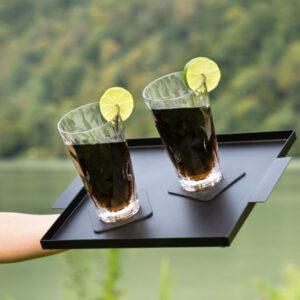 Magnetiska longdrinkglas i plast Silwy, 2-pack