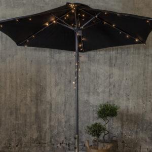 Ljusslinga till parasoll