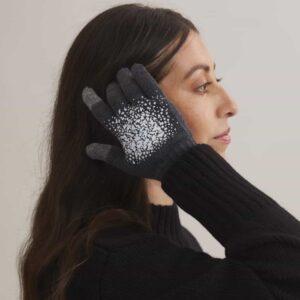 Reflexfingervantar med touch